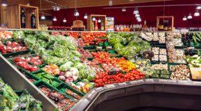 Fruits et légumes bio vendus par la grande distribution